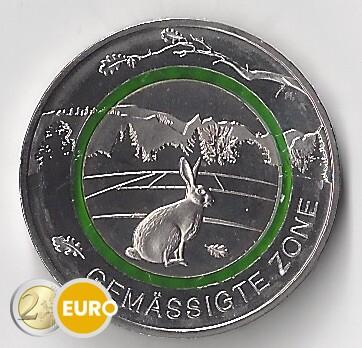 5 euro Deutschland 2019 - gemäßigte Zone UNC