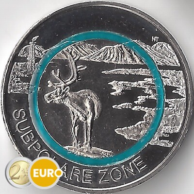 5 euro Deutschland 2020 - Subpolare Zone UNC UNZ
