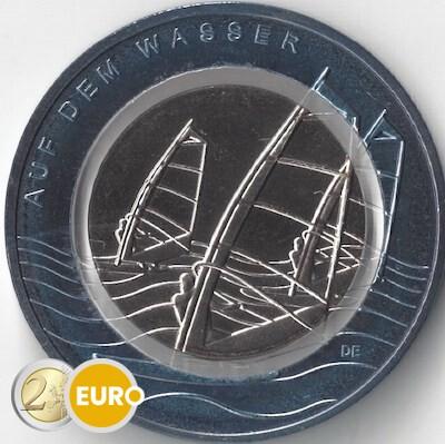 10 euro Deutschland 2021 - Auf dem Wasser UNZ UNC