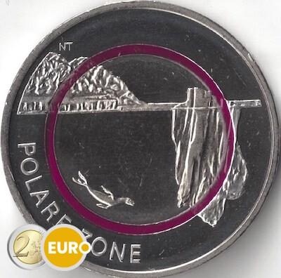 5 euro Deutschland 2021 - Polare Zone UNZ UNC