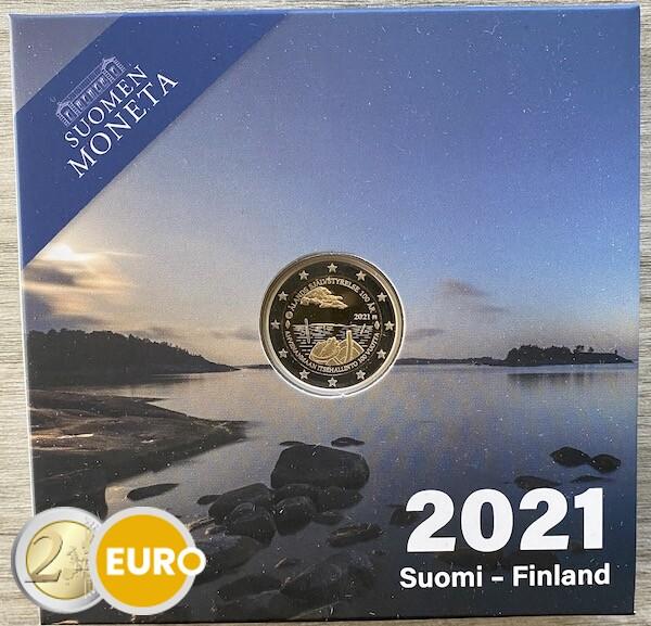 2 euro Finnland 2021 - Alandinseln PP BE Proof